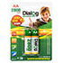 NiMH rechargeable AA batteries HR6/2800-2B
