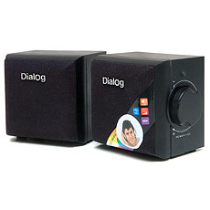 Speakers Dialog AD-01U Black