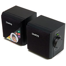Speakers Dialog AD-02 Black