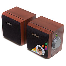 Speakers Dialog AD-02 Cherry