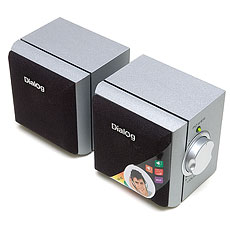 Speakers Dialog AD-02 Silver