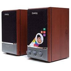 Speakers Dialog AD-04 Cherry