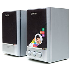 Speakers Dialog AD-04 Silver