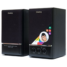 Speakers Dialog AD-06 Black