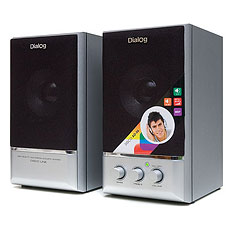 Speakers Dialog AD-06 Silver