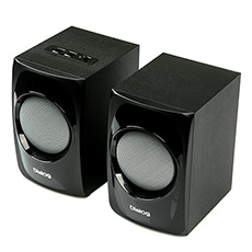 2.0 Speakers Dialog AP-20 Black