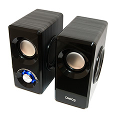 Speakers Dialog AST-25UP Black