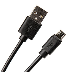 USB 2.0 cable 1m Dialog CU-0310 Black
