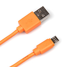 USB 2.0 cable 1m Dialog CU-0310 Orange