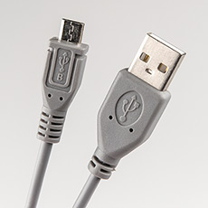 USB 2.0 cable 1m Dialog CU-0310-P Grey