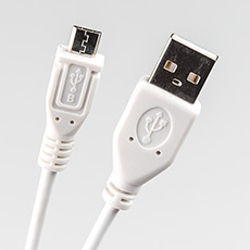 USB 2.0 cable 1m Dialog CU-0310-P White