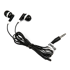 Earphones Dialog EP-E001 Black