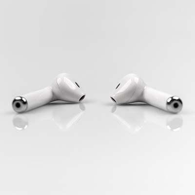 Bluetooth headset ES-15BT White main photo