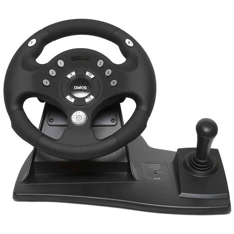 Игровой руль Dialog Rally-Sport GW-11VR