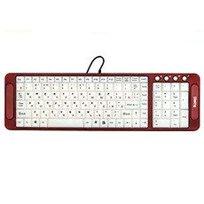 Keyboard Dialog KK-L04U Red