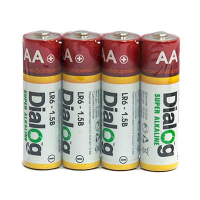 AA alcaline batteries LR6-4S main photo