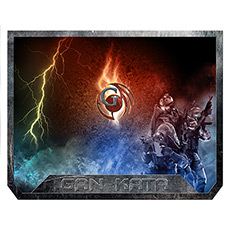 Mouse pad Dialog PGK-07 Soldier