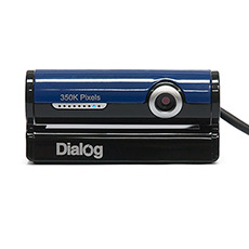 Веб-камера Dialog WC-30U Black-Blue