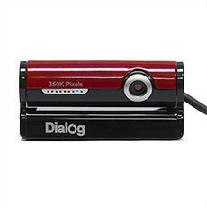 Веб-камера Dialog WC-30U Black-Red