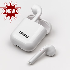 Bluetooth headset Dialog ES-35BT White